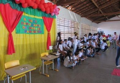 Dia do estudante comemorado nas escolas municipais