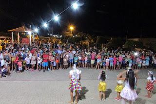 Prefeitura dar uma festança para criançada