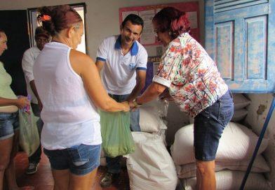 Sementes de milho  e feijão são distribuídas pela Prefeitura Municipal em parceria com EMATER