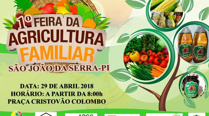 Vem aí dia 29 de abril a I Feira da Agricultura Familiar