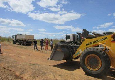 Prefeitura Municipal inicia recuperação de estradas vicinais