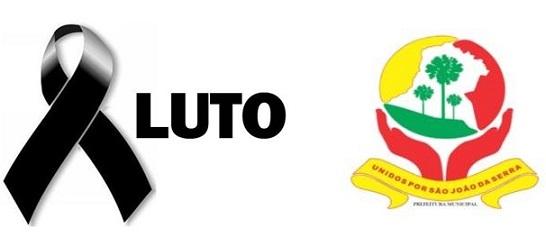 Nota de Pesar da Prefeitura Municipal de São João da Serra