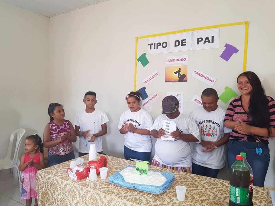 Prefeitura Municipal comemora dia dos pais através do grupo Superação