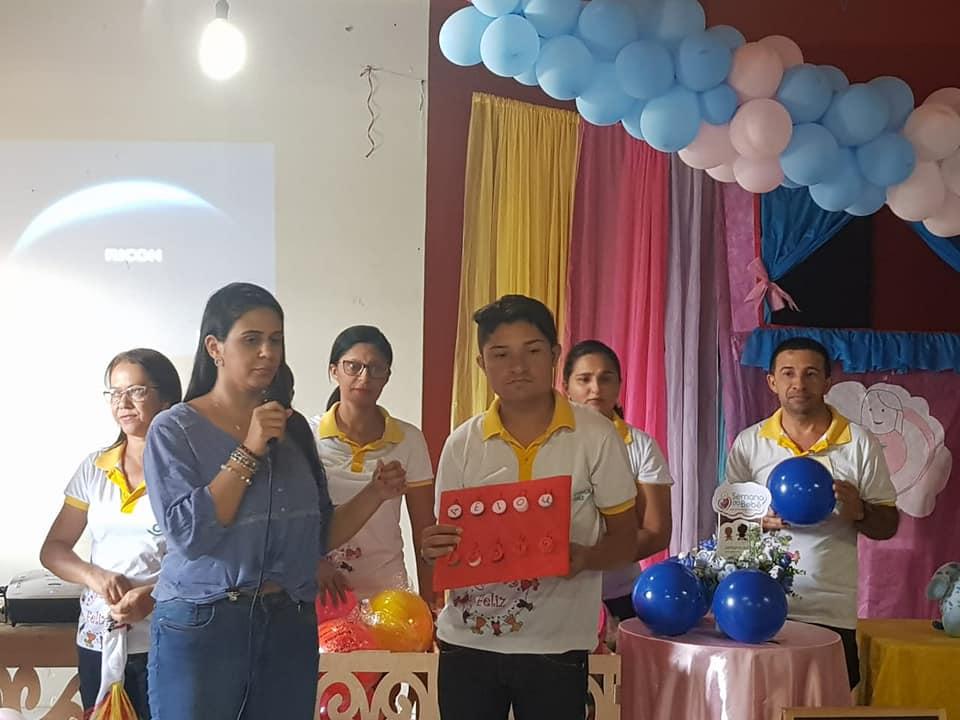 Prefeitura realiza festa de enceramento da semana do bebê